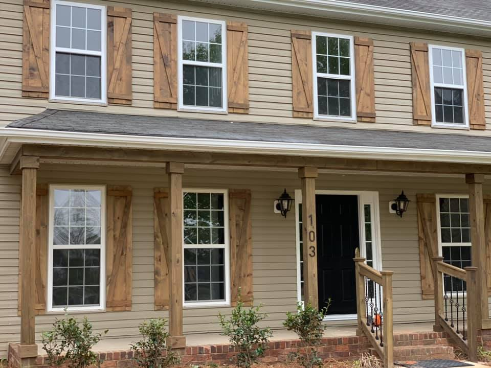 Exterior remodeling in Charlotte